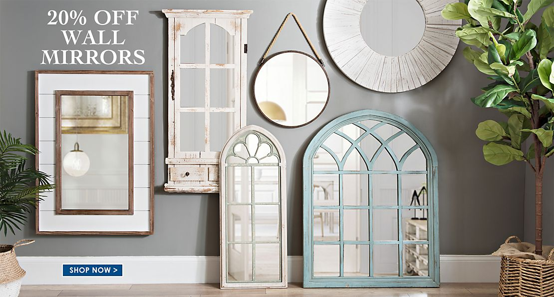 20% Off Wall Mirrors   Shop Now