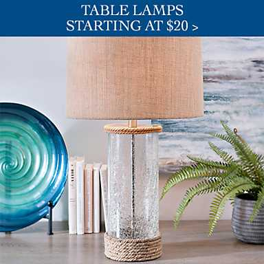 Shop Table Lamps Starting At 20