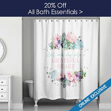 20% off All Bath Essentials - Online Only - Shop Now