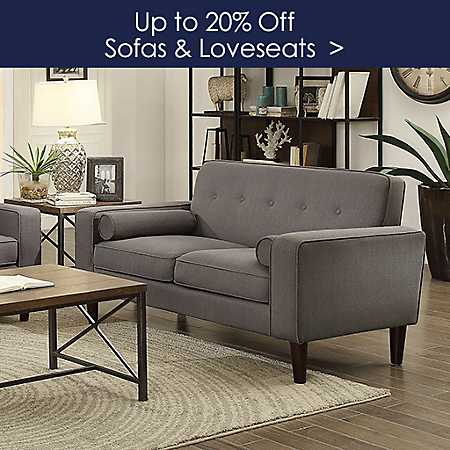 Up to 20% off Sofas and Loveseats - Shop Now