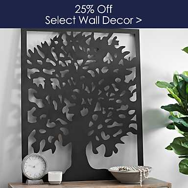 Select  Wall Decor 25% off