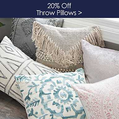 20% off Pillows