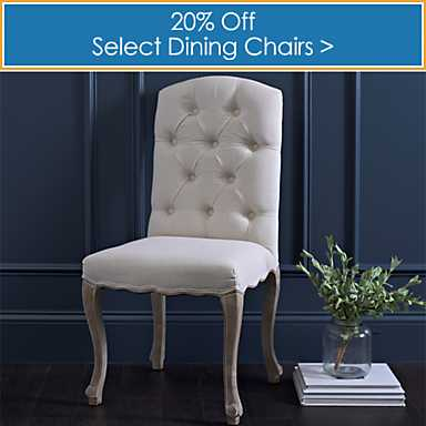 Select Dining Chairs  20% off - Shop Now