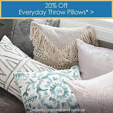 20% off Pillows