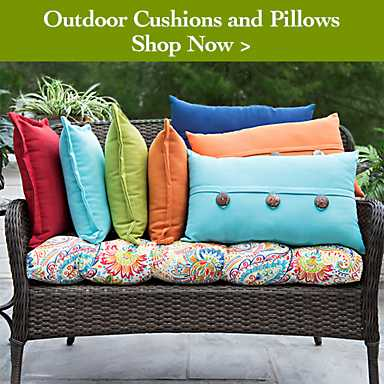 Outdoor cushions and pillows - Shop Now