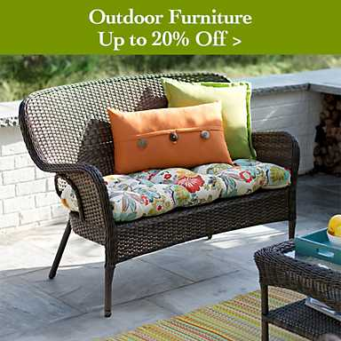 Outdoor furniture up to 20% off - Shop Now