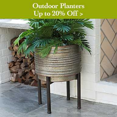 Up to 20% off Outdoor Planters