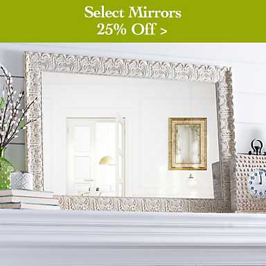25% off Select Mirrors