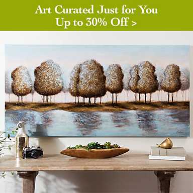 Art Curated Just for You Up to 30% off