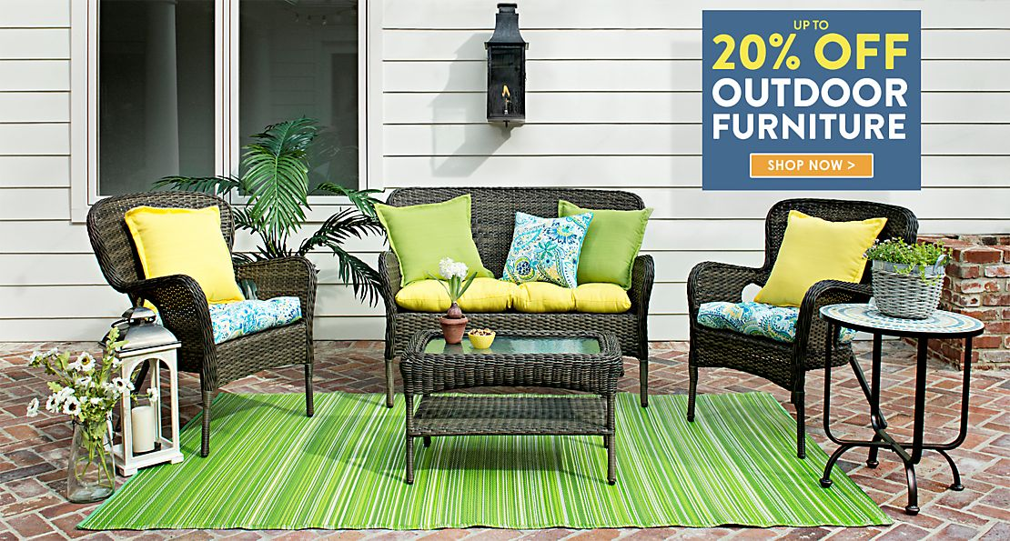 Up to 20% off Outdoor Furniture - Shop Now