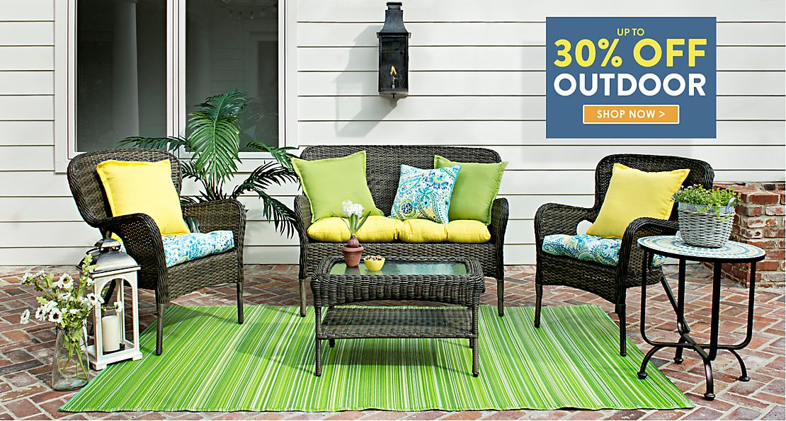 Outdoor Furniture - Spring into Savings Up to 30% off  - Shop Now