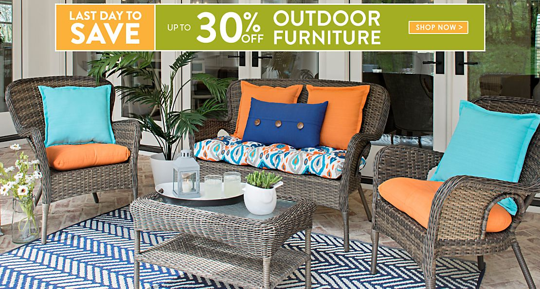 Ordinaire Outdoor Furniture   Last Day To Save Up To 30% Off   Shop The Sale