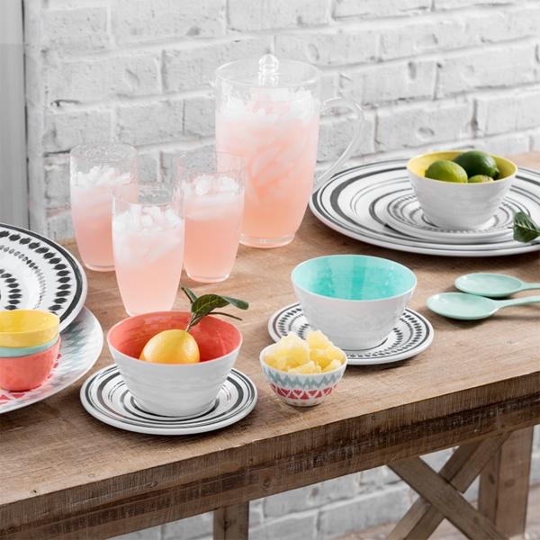 inexpensive dinnerware with modern design
