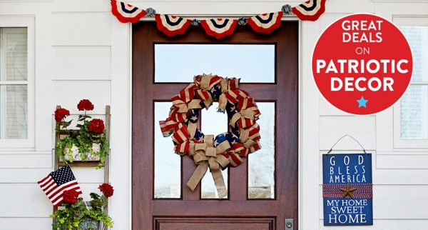 Patriotic Decor - Shop Now