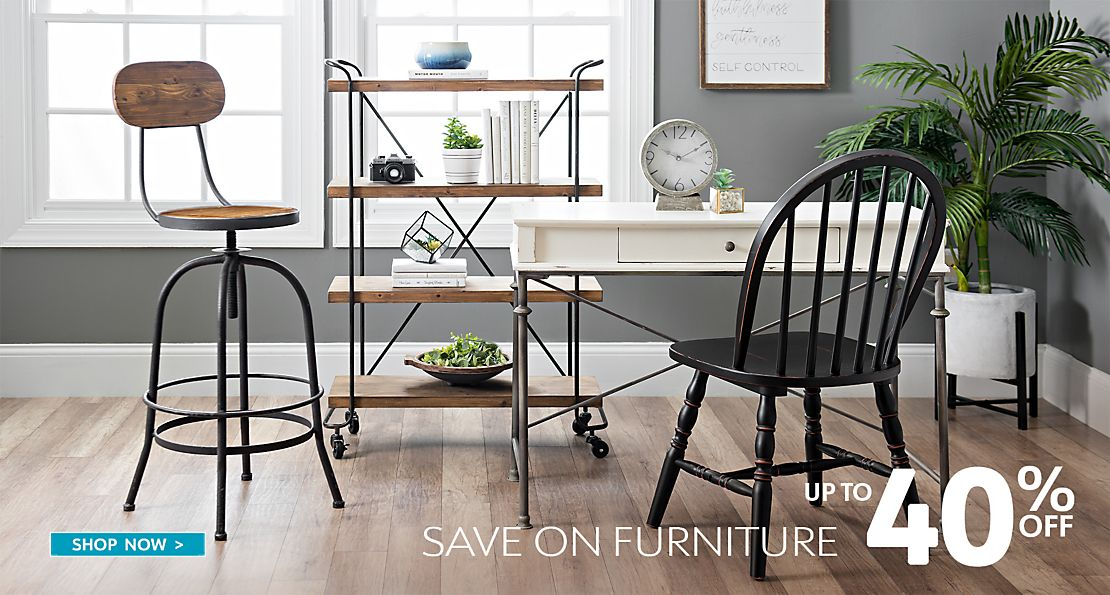 Up to 40% Off Furniture - Shop Now