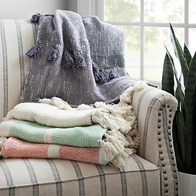 A selection of kirkland's blankets