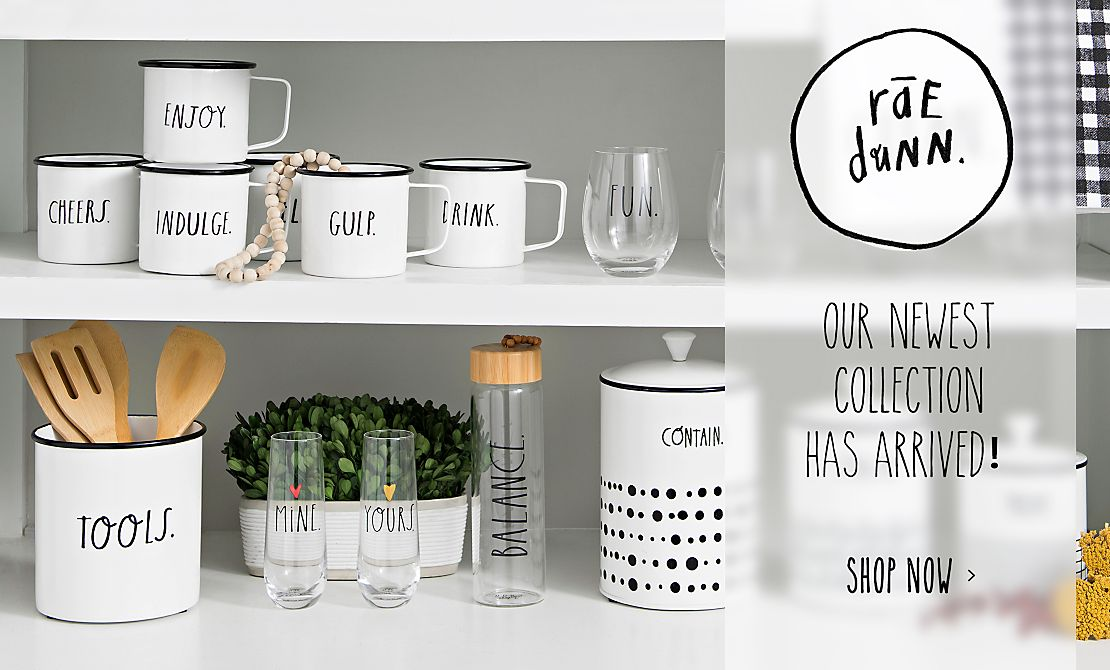 Home decor wall decor furniture unique gifts kirklands our newest collection is here rae dunn collection shop now junglespirit Image collections