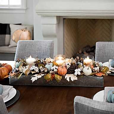 Table Centerpiece for Autumn
