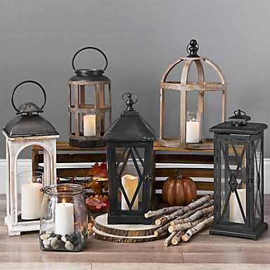 A variety of candle lanterns from Kirkland's
