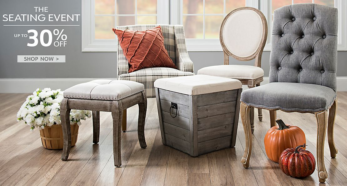 The Seating Event - Up to 30% Off - Shop Now