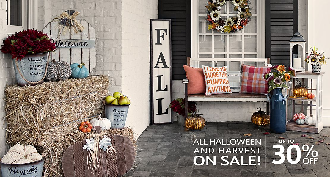 All Halloween & Harvest On Sale - Up to 30% Off - Shop Now
