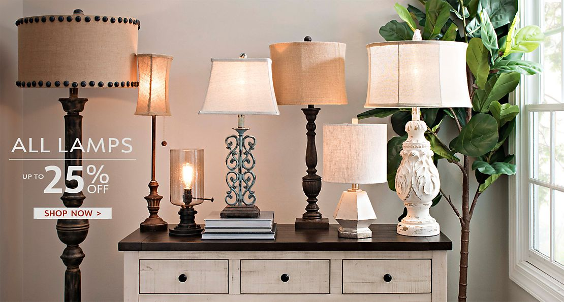 All Lamps On Sale - Up to 25% Off - Shop Now