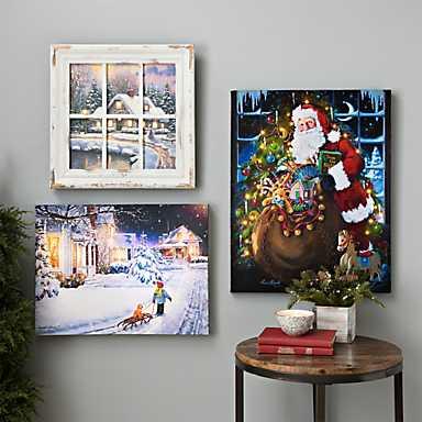 Christmas Paintings and wall art