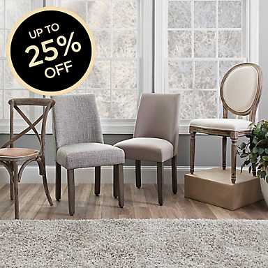 Choose from a selection of dining room chairs
