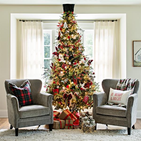 Pre-Lit Alpine Christmas Trees