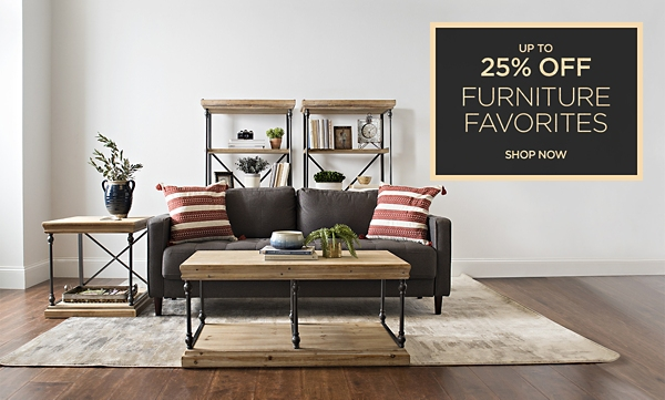 Up to 30% Off Furniture Favorites - Shop Now