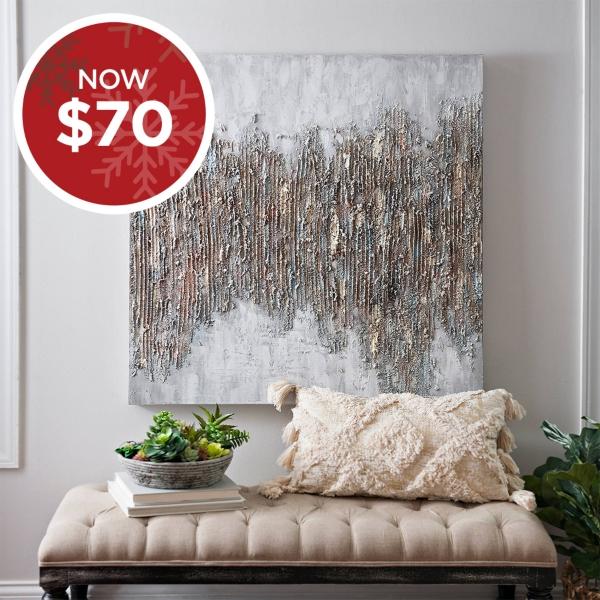 Luxe Sparkle Canvas Art Print