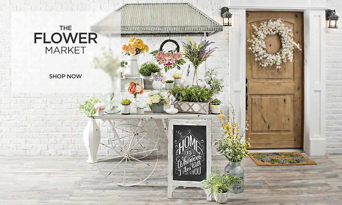 The Flower Market - Shop Now