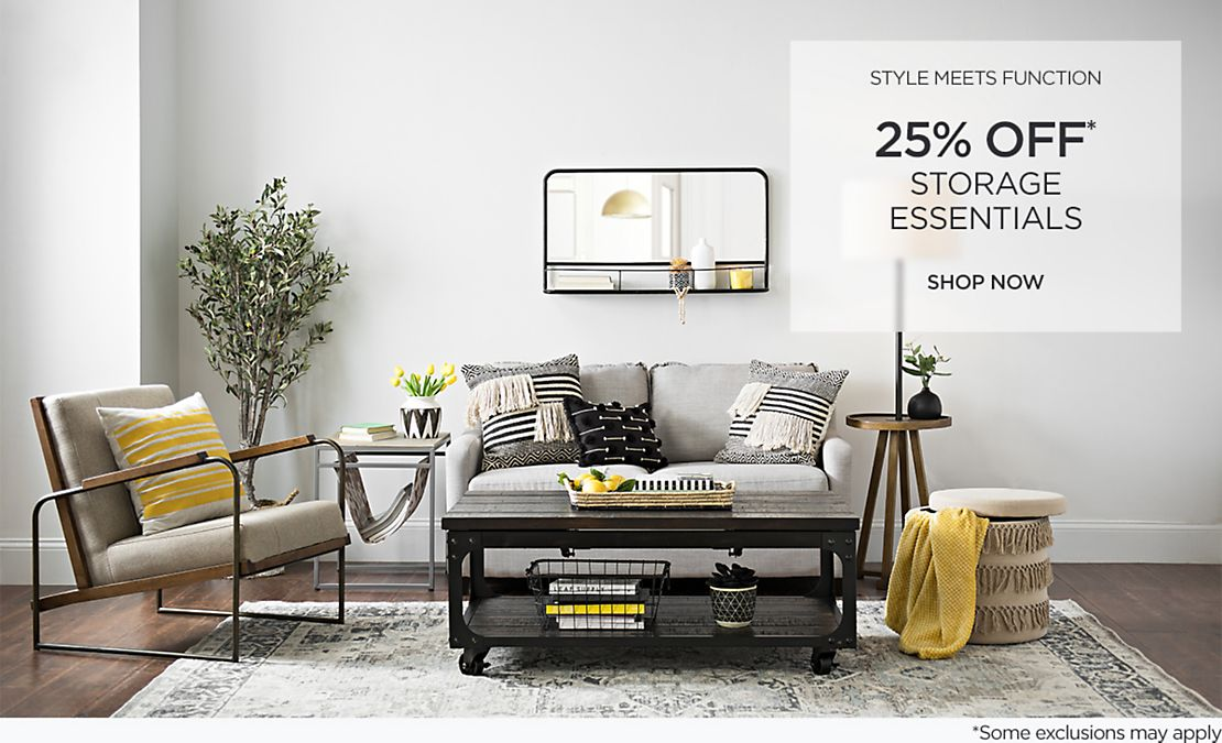 Style Meets Function - 25% Off Storage Essentials - Some exclusions apply - Shop Now