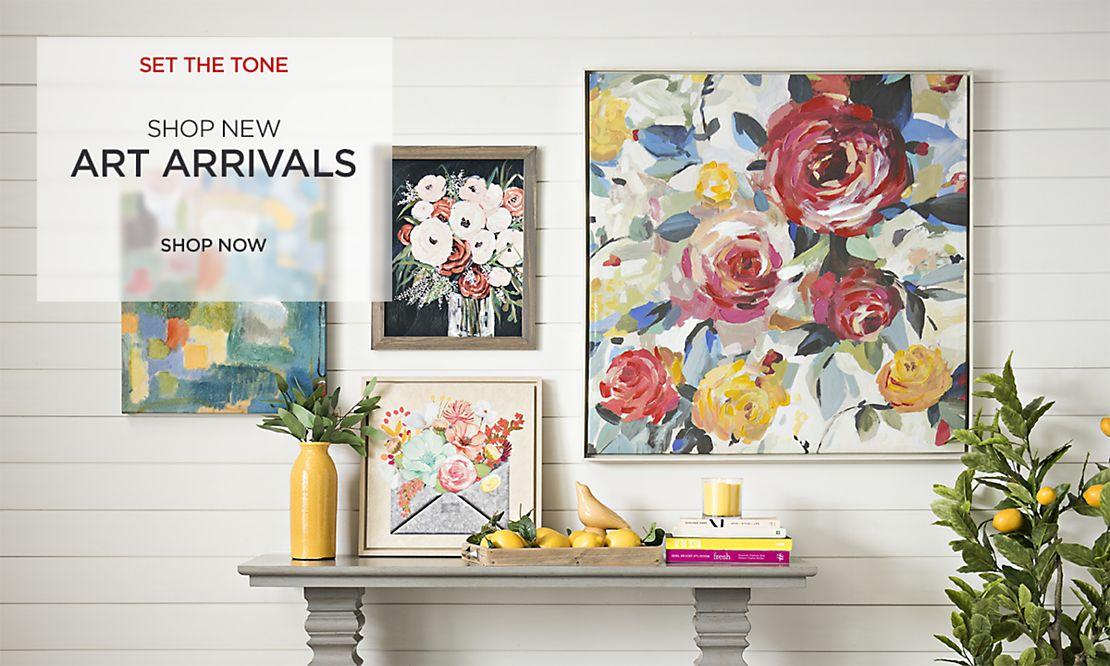 Set the Tone - Shop New Art Arrivals
