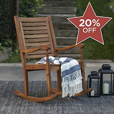 A great selection of outdoor furniture