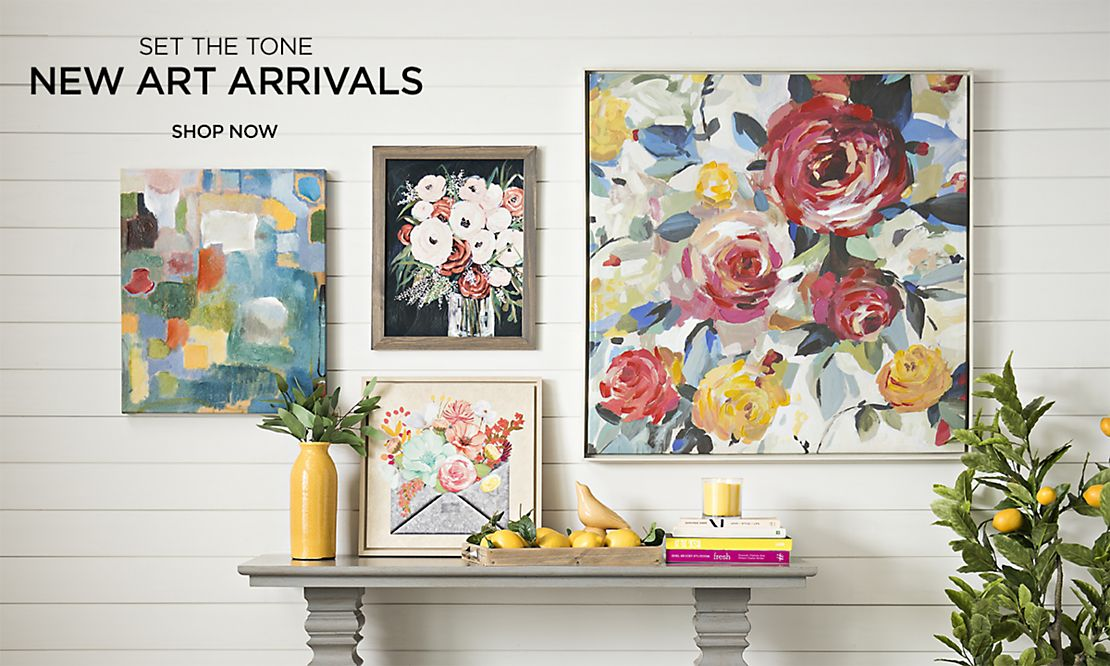 Shop New Art Arrivals