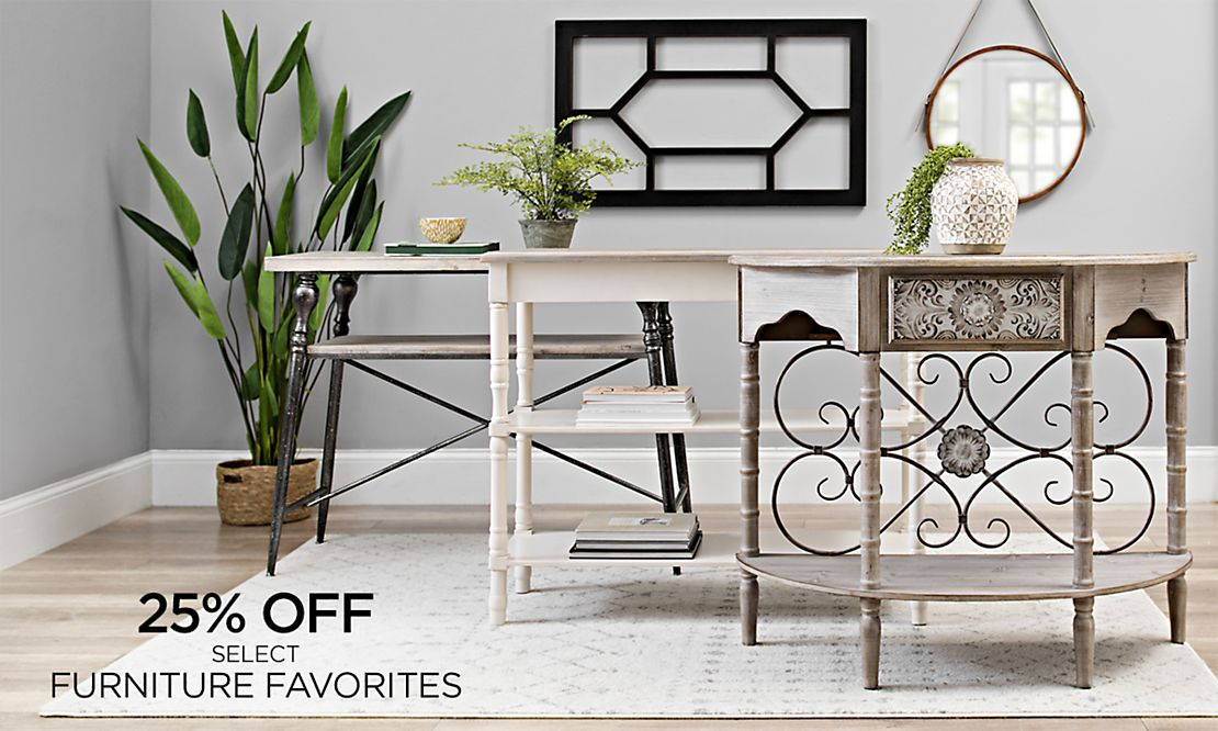 25% Off Select Furniture Favorites