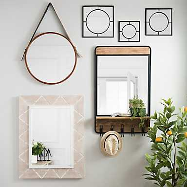 Enlarge any space with one of our many mirrors