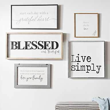 A large selection of wall art at great prices