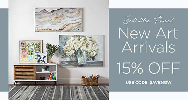 Set the Tone -  New Art Arrivals - 15%  Off - Use code ?????? - Shop Now