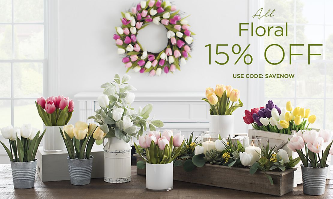 All Floral 15% Off - Use code SAVENOW - Shop Now
