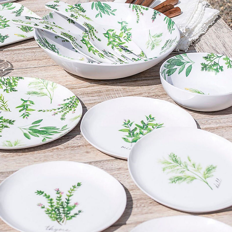Serveware for outdoor eating