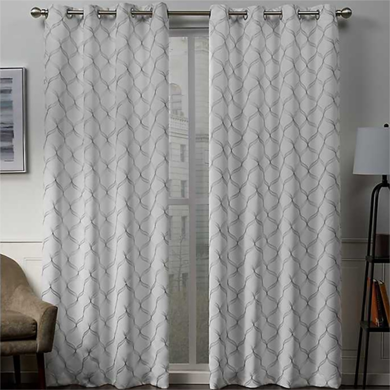 Winter Amelia Blackout Curtain Panel Set