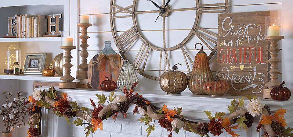Kirkland's 2016 Harvest Decorations