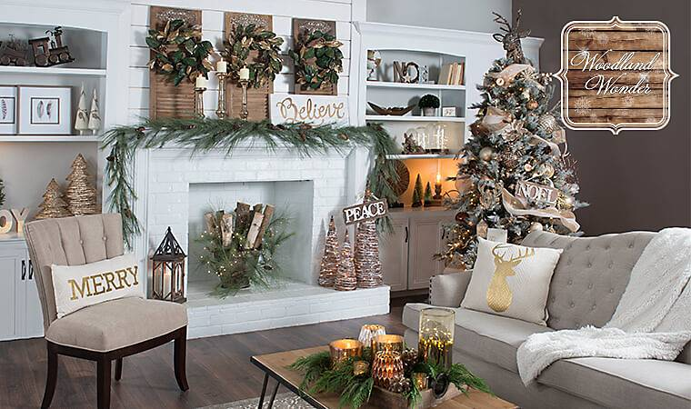 Christmas Decorations From Nature Part - 43: Nature Shines This Christmas With Our Woodland Wonder Collection! These Natural  Christmas Decorations Look Rustic