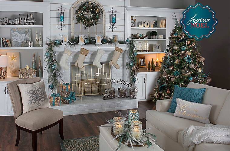 Vintage christmas decorations kirklands for Online decor stores