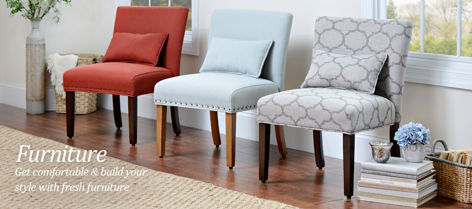 Furniture - Get comfortable & build your style with fresh furniture