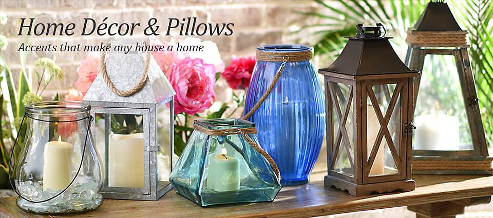Home Decor & Pillows - The accents that make a house a home!