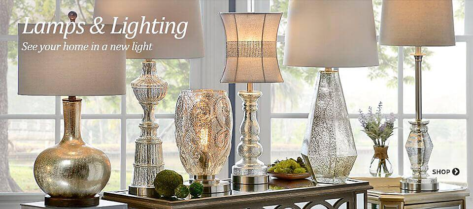 Lamps & Lighting - See your home in a new light!