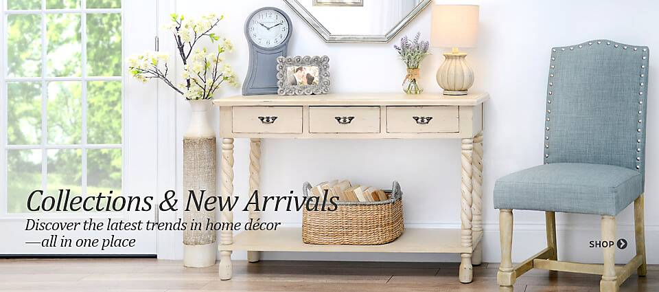 Collections & New Arrivals - Discover the latest trends in home decor, all in one place